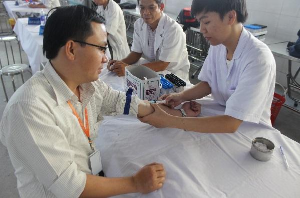 Quy trình lấy máu xét nghiệm