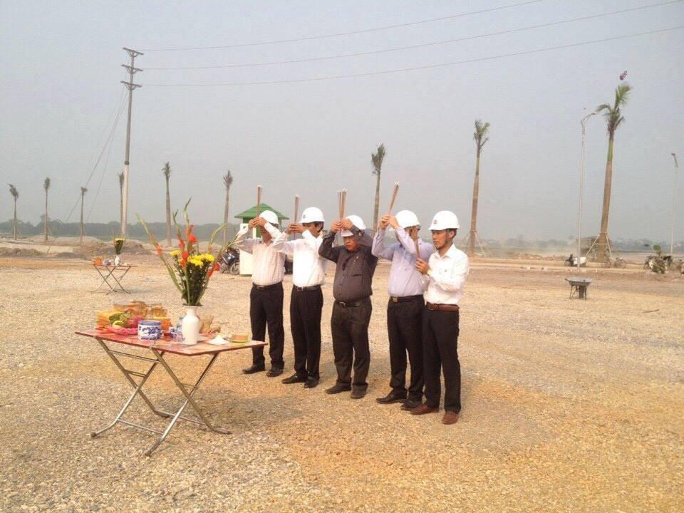 lễ động thổ xây dựng nhà máy cốp pha nhôm thứ hai của SAKI